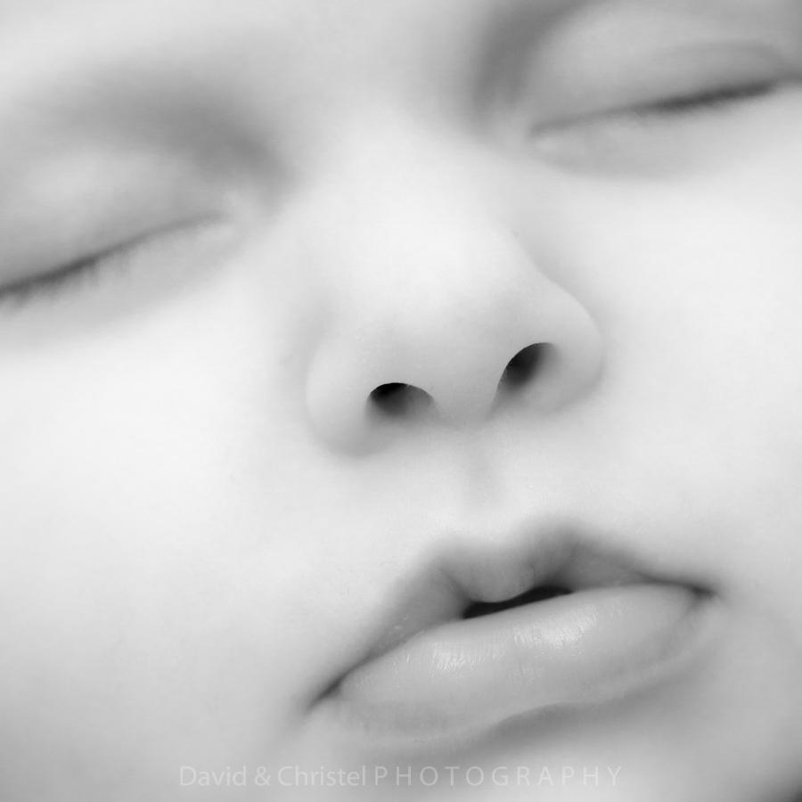 photo détail bouche bébé