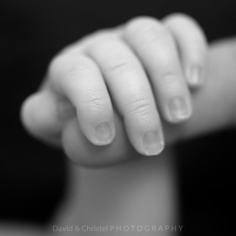 photo detail main noir et blanc