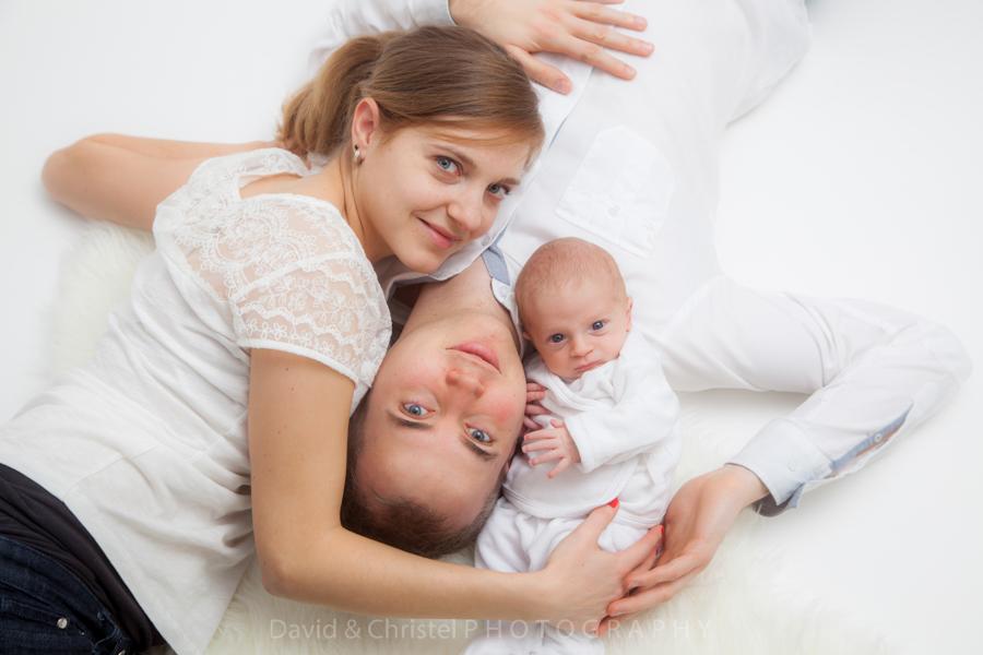 photo portrait de famille à domicile