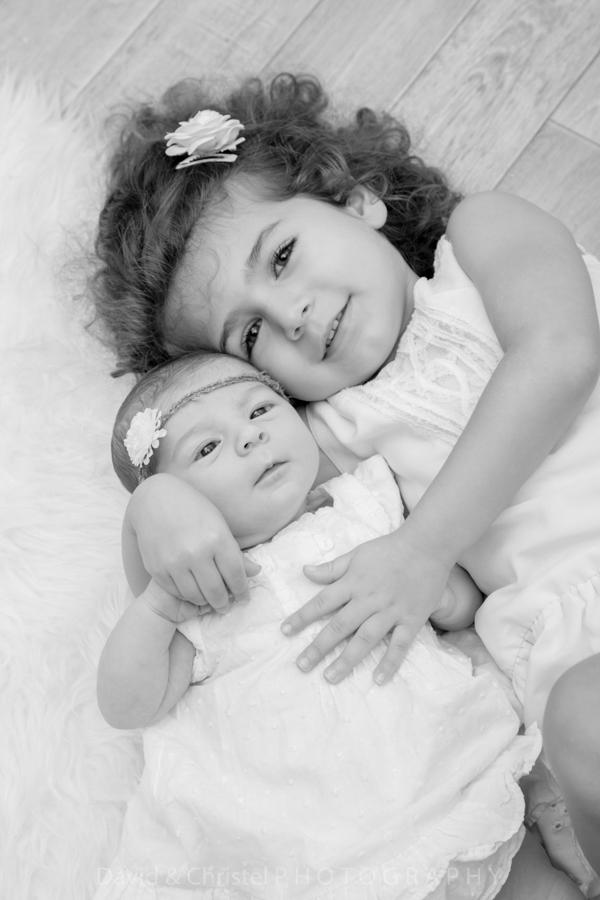 photo portrait de soeurs