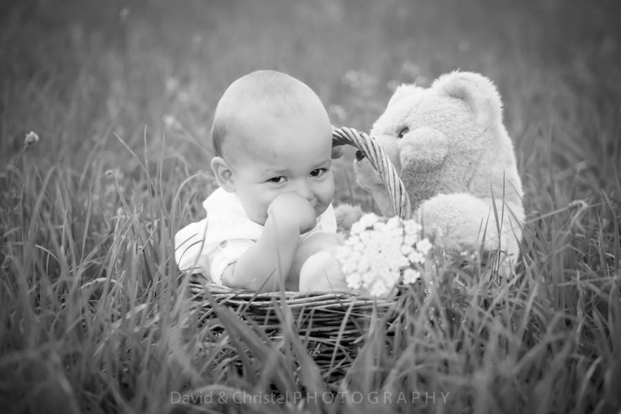 photo de bébé en extérieur