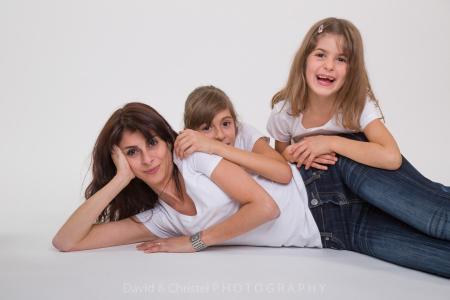 photo d'une maman et ses filles
