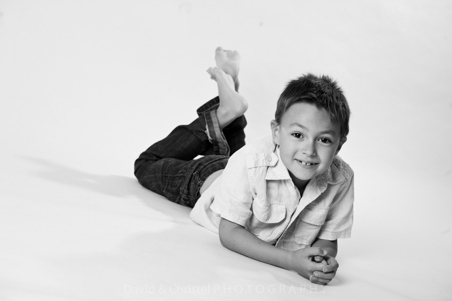 photo enfant en studio