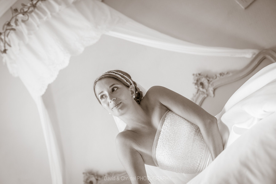 La mariée dans la chambre