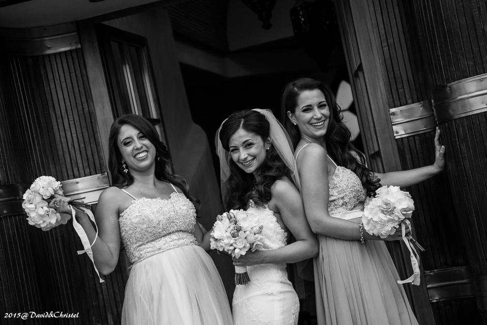 les temoins de la mariée