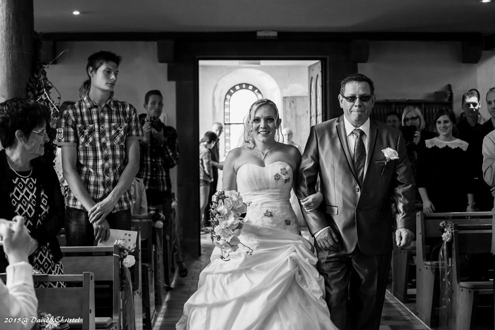 Mariage eglise dossenheim