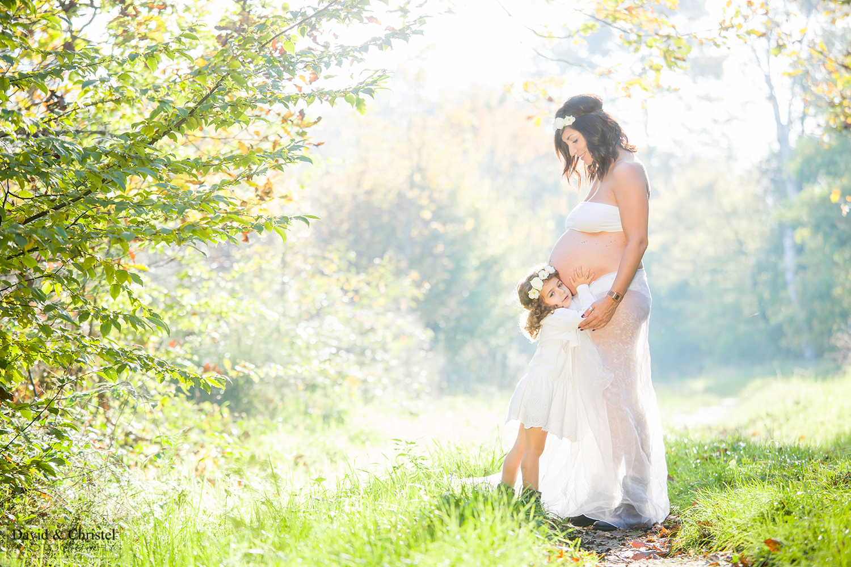 Photos de grossesse en exterieur