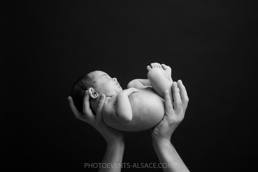 photo de naissance à domicile