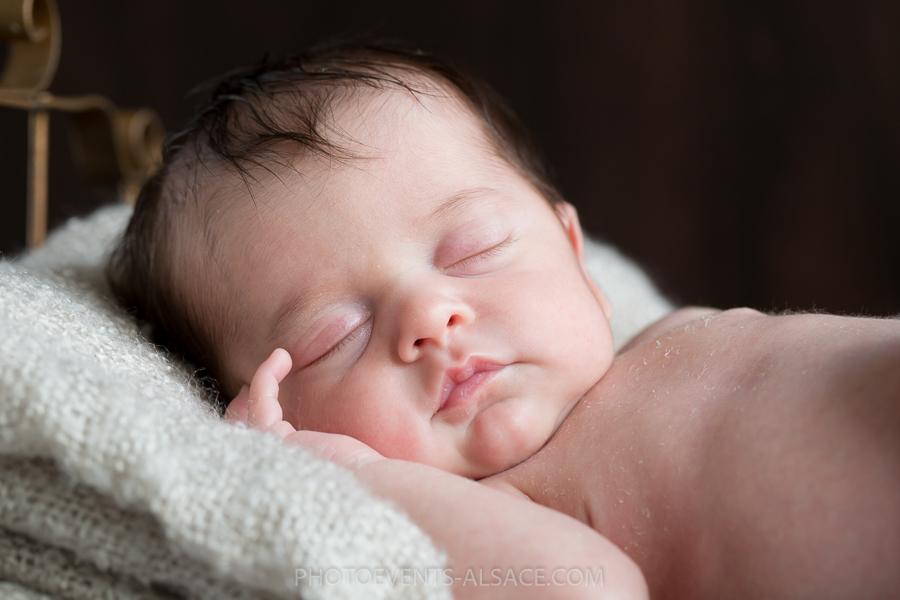 portrait de bébé couleur