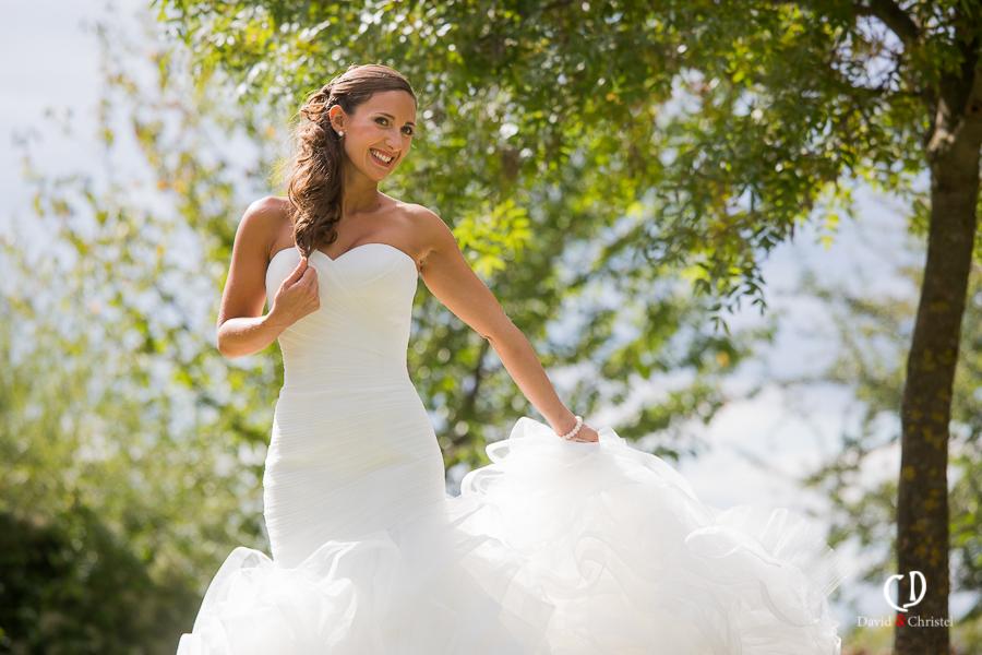 Mariage romantique dans la Drôme