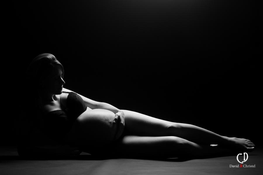 photo artistique femme enceinte