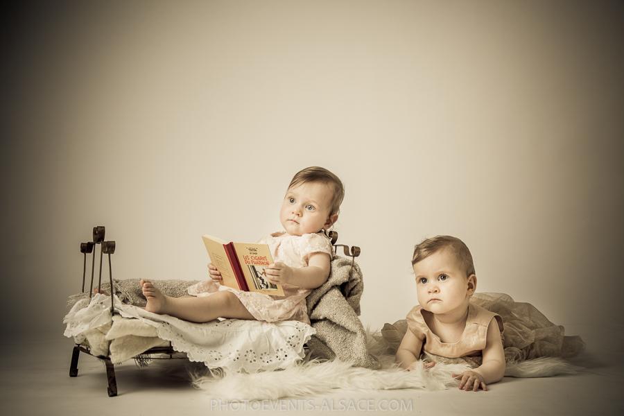 photo soeurs jumelles