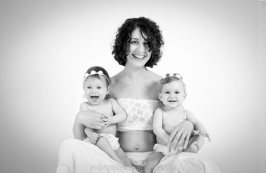 portrait mère et ses filles