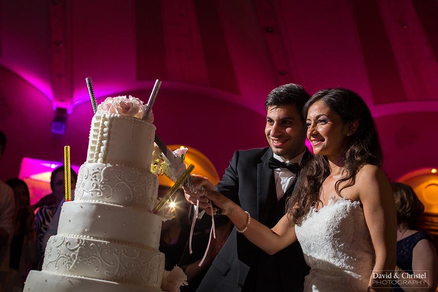 Le gateau de mariage