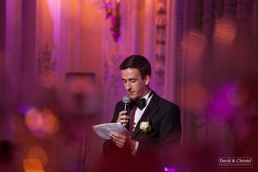 discours lors d'un mariage
