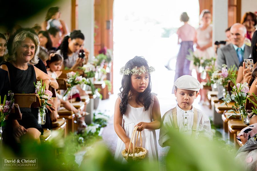photo d'eglise lors d'un mariage