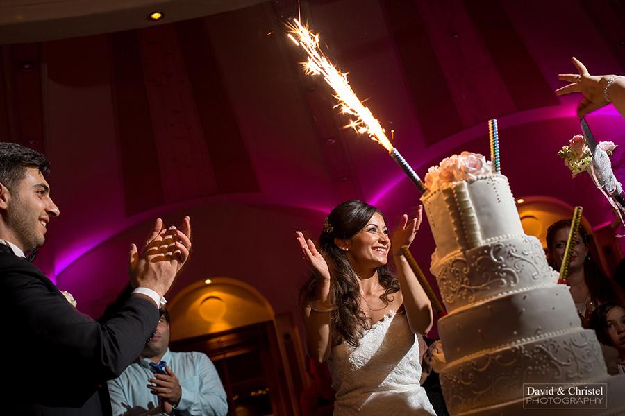photographie de mariage soirée