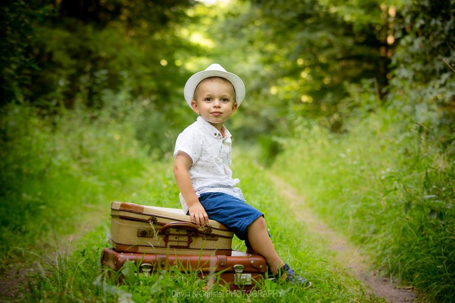 photographie d'enfant en couleur