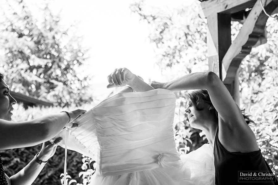 preparatifs de la mariée a la maison