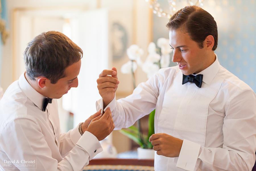 preparatifs du marié