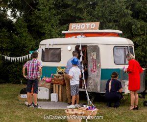 Nouveau en Alsace, la caravane photobooth