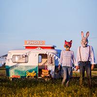 La caravane à souvenirs - Le Photobooth de nouvelle génération