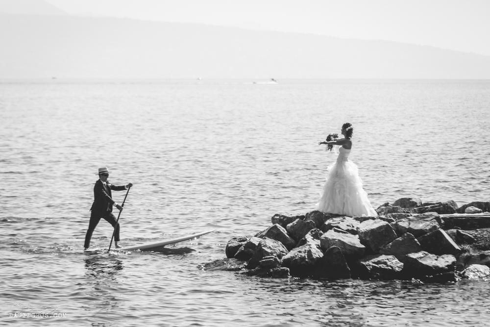 photo mariage lac leman